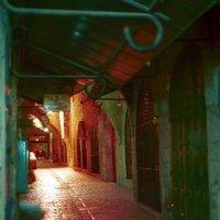 Арабский рынок в старом городе ночью. Иерусалим. :: Игорь Герман