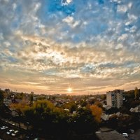 Осенний закат :: Александр Хохлов