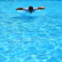 Вера Бакшеева - Пловец