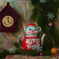 Новогодняя открытка :: Галина Ширманова
