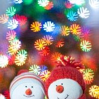 снеговики :: Евгения Порядина