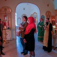 крещение дочери :: Анастасия Литвиненко