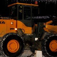 Уборка  снега :: Ираида Бригвадзе