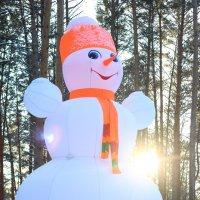 снеговик!!! музей томская писаница :: Олеся Дашковская