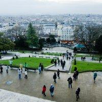 Париж с холма Монмартр :: Witalij Loewin