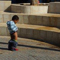 Писающий мальчик, Иерусалим :: Игорь Герман