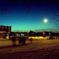 Зелёный закат :: Александр Симаков