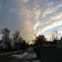 вечернее небо над Истрой :: jenia77 Миронюк Женя