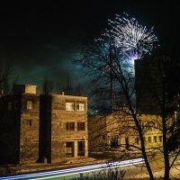Новый год в провинциальном городке :: Нина Паклина