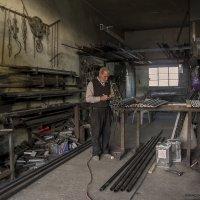 Слесарная мастерская-слесаря :: Shmual Hava Retro