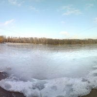 Пруд в декабре. :: Павел Михалев