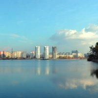 Панорама озера :: dimakoshelev Кошелев