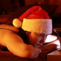 Одиночество в новогоднюю ночь... :: Татьяна Копосова