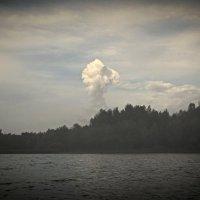 облако над рекой Самара :: Наталья Иванченко