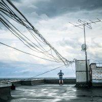 Маленький человек и большой город :: Александр Хвостов