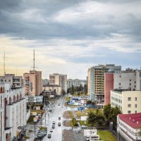 Улица с крыши :: Александр Хвостов