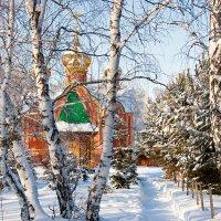 Ачаирский монастырь. Омская область.Храм Святого Великомученика Димитрия Солунского. :: Лилия *