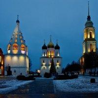 Соборная площадь в Рождественский сочельник. :: Victor Klyuchev
