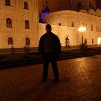 Святогорская Лавра ночью 1 :: Владимир Цапенко