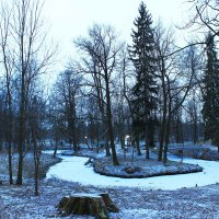 Парковый пейзаж. :: Александр Лейкум