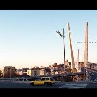 """Владивосток, мост через бухту """"Золотой Рог"""" :: Оля К"""