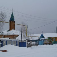Мечеть. :: НАДЕЖДА КЛАДЧИХИНА