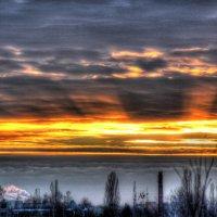 Зимний закат :: Ирина Петрова