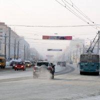 Холодно в городе :: Владимир Смирнов