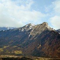 Где то пролетая Альпы. :: Валентина Потулова