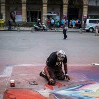 Уличный художник :: Эдуард Ульрих