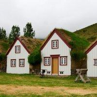 Поселение викингов (реконструкция) Исландия :: Олег Неугодников