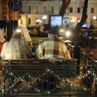 Новогодняя Одесса. Трое. :: Антон Шелудков