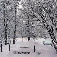 Ашинский зимний дворик :: Сергей Беляев