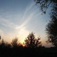 утреннее небо... :: валерий Кораблев