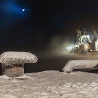 Порт зимой :: олег