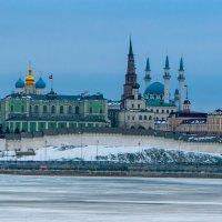 казанский кремль состороны реки Казанки. :: александр мак mak