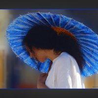 под зонтиком-в японском стиле :: Shmual Hava Retro