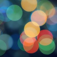 Новогодние гирлянды :: Анастасия Кононенко