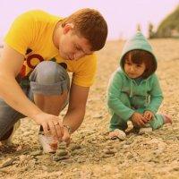 Два ребенка :: Алексей Лебедев