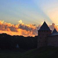 Рассвет багровый, как закат... :: Евгений Никифоров