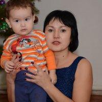 Племянник Алим и его мама Римма :: Шойтас Тасваев