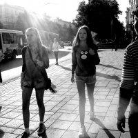 Лучи уходящего лета. :: Александр Ломов