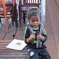 Камбоджа. На озере Тонлесап :: Владимир Шибинский