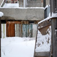 Мир за забором :: Юлиана Рыбальченко