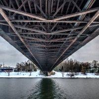 Пензенский подвесной мост :: Андрей Ракита