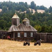 Часовня Святой Троицы в Форт-Росс, Калифорния :: Александр Творогов
