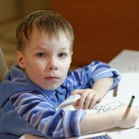Юный художник :: Валерий Шибаев