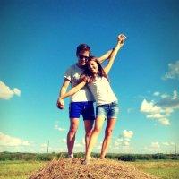 Август. Поле. Love Story :: Marina Kharitonova