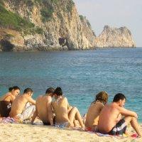 пляж для влюблённых :: Наталья Ерёменко