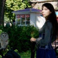 Девушка с совой :: Наталия Короткова